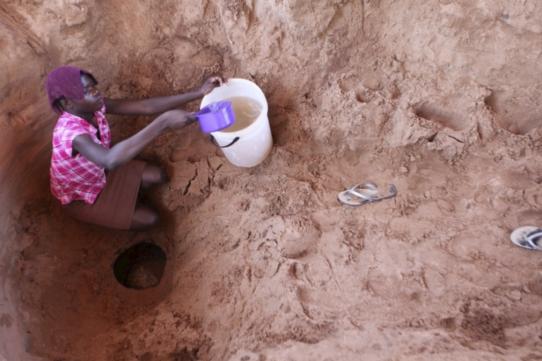 Severe drought in Africa has resulted from the strongest El Nino phenomenon in decades [Reuters]