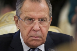 Russian Foreign Minister Sergey Lavrov has cancelled a trip to Istanbul scheduled for Wednesday [AP/Ivan Sekretarev]