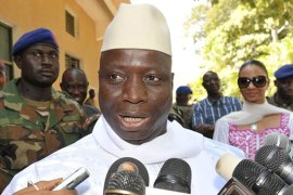 President Jammeh says FGM is an obsolete practice that is not required by Islam [AFP]
