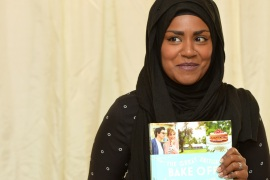 Nadiya Hussain winner of the Great British Bake Off final at Waterstone's Piccadilly [Anthony Harvey/Getty Images]