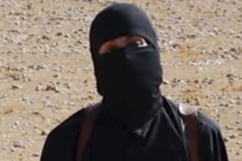 'Jihadi John' is the ISIL fighter who appears in the videos of the beheadings of hostages [Associated Press]