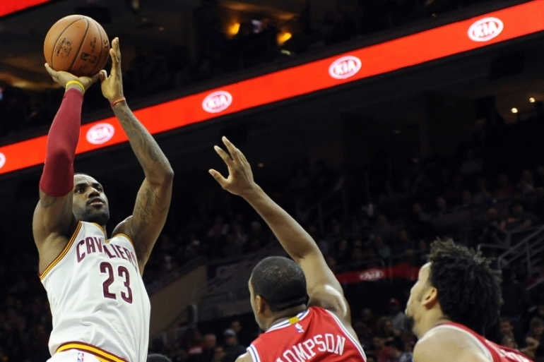 LeBron James is 20th on the all-time scoring list in the NBA [AP]