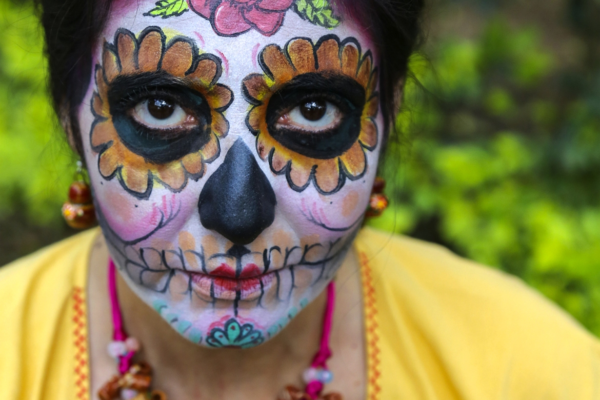 Although marked across Latin America, the Day of the Dead is particularly important in Mexico, where it has become one of the most important national celebrations. [Gabbi Campos/Al Jazeera]