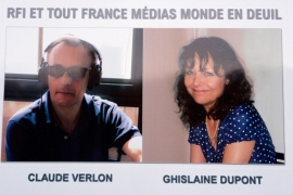 Ghislaine Dupont and Claude Verlon, both working for Radio France Internationale, were shot dead in Mali [Getty]