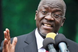 President Magufuli has asked Tanzanians to continue religious and commercial activities despite the outbreak of coronavirus [File: Sadi Said/Reuters]
