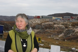 Astrid Olsen works with children and young people in Ilulissat to counter the Greenlandic town's high rates of suicide [Lene Bech Sillesen/Al Jazeera]