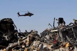 Russia says plane in Egypt's Sinai brought down by bomb