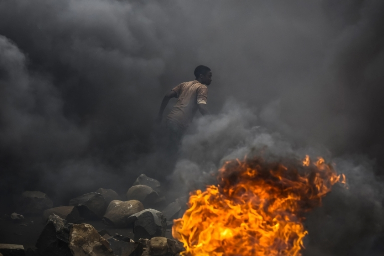 Burundi has been rocked by violence since April after President Nkurunziza decided to run for a third term in office [EPA]
