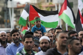 Palestinian citizens of Israel have rallied across the country as Palestinians in the occupied territories continue to clash with Israeli forces [Reuters]