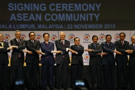 ASEAN summit saw member countries pushing for a legally binding 'code of conduct' in the South China Sea as a way to constraint China's territorial assertiveness in the area, writes Heydarian [AP]