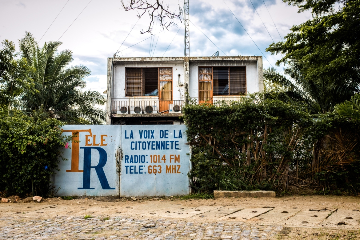 The headquarters of Tele Renaissance in central Bujumbura. Private media sources have been shut down since an attempted coup on May 13. [Al Jazeera]