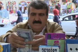 Hard times for northern Iraq as oil prices fall