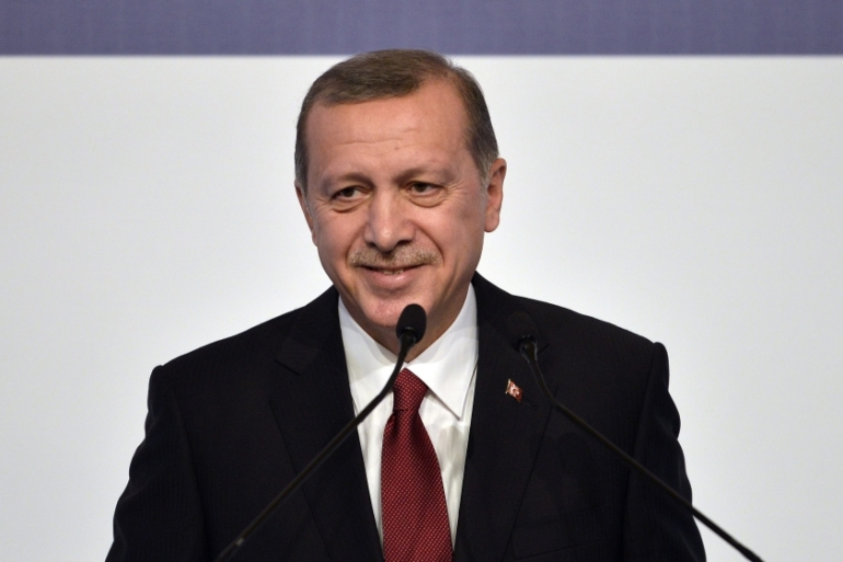 Turkish President Recep Tayyip Erdogan urged deeper intelligence sharing among those in attendance at the G20 summit [EPA]