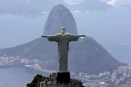 Rio de Janeiro has spent more than $20bn to organise last year's World Cup and the 2016 Olympics [David J Phillip/AP]