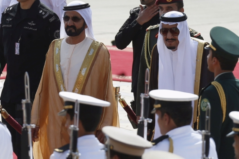 The two countries that appear to be more at risk now are Saudi Arabia and the United Arab Emirates, writes Guitta [Reuters]