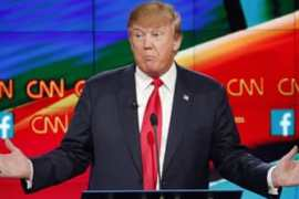 The Republican debate on Tuesday was the first since the attack in California and another in Paris [AP]
