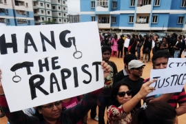 Gang-rape of a medical student in 2012 sparked massive protests calling for moves to protect women [EPA]
