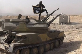 ISIL 'caliphate' shrank by 14 percent in 2015: monitor