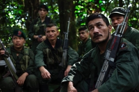 FARC rebels' last days in the Colombian jungle?