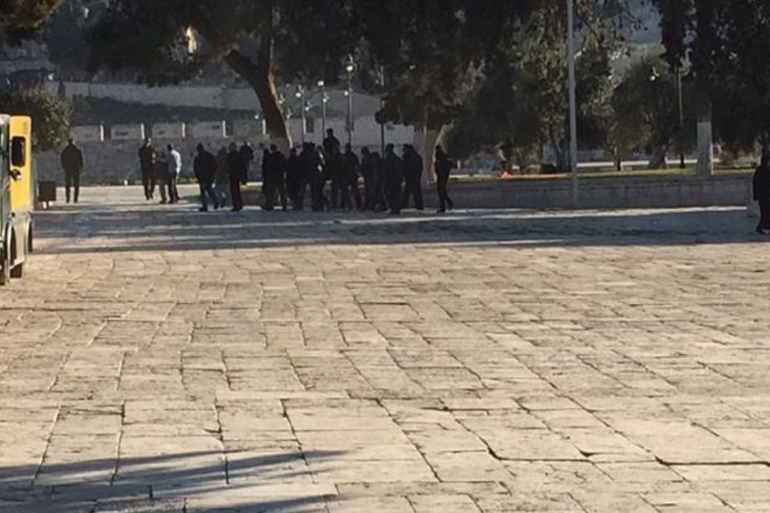 Visits by Jewish groups to the al-Aqsa Mosque compound have triggered deadly violence over the past few months [Al Jazeera]