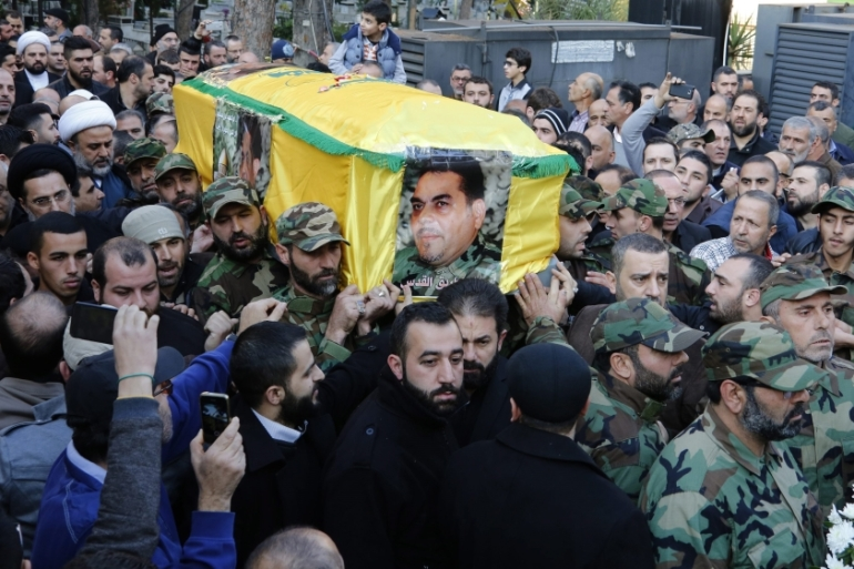 Hezbollah Secretary General Hassan Nasrallah vowed to avenge Kantar's assassination,  [EPA]