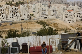 Israeli settlements in the occupied West Bank are deemed to be illegal under international law [Bernat Armangue/AP]