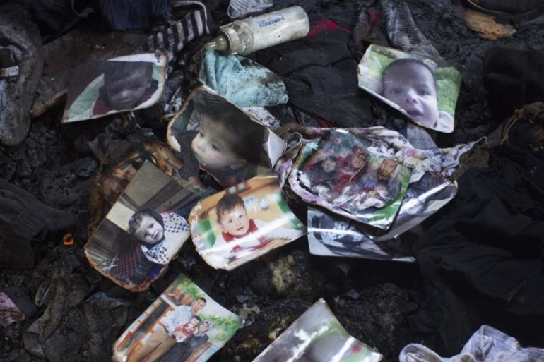 Israeli settlers have been arrested but not charged in the case of a Palestinian family burned alive [File: Getty Images]