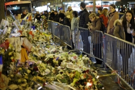 On November 13, attacks in Paris killed 130 people with the violence later claimed by the ISIL group [Matt Dunham/AP Photo]