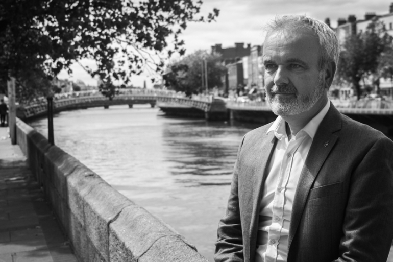Colm O'Gorman is the director of Amnesty International Ireland. He has also been one of the loudest voices speaking out against child sexual abuse within the Church [Marie Starr/Al Jazeera]