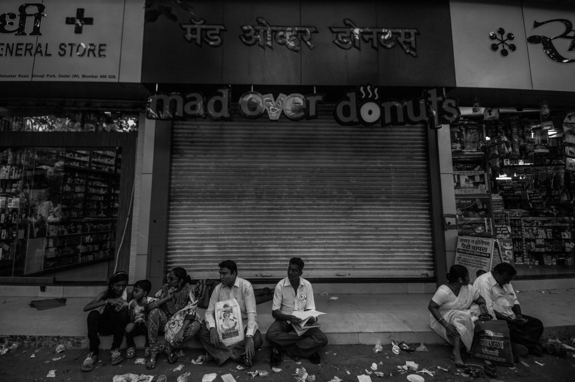 Many of the mostly upper-class and upper-caste residents who live near the site of the annual gathering leave around that time of the year. [Javed Iqbal/Al Jazeera]