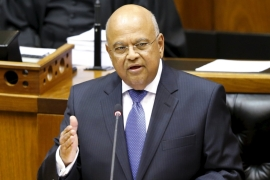 South Africa's Zuma replaces finance minister, again