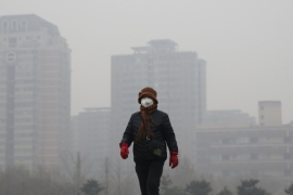 Beijing authorities were forced to issue their first red alert due to the smog levels earlier this month [Reuters]