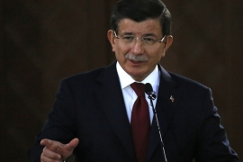 Davutoglu said the presence of Turkish soldiers in northern Iraq calling it a routine rotation to train Iraqis to retake Mosul from ISIL [AP]