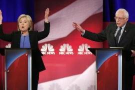 Discourse and debate between Sanders and Clinton