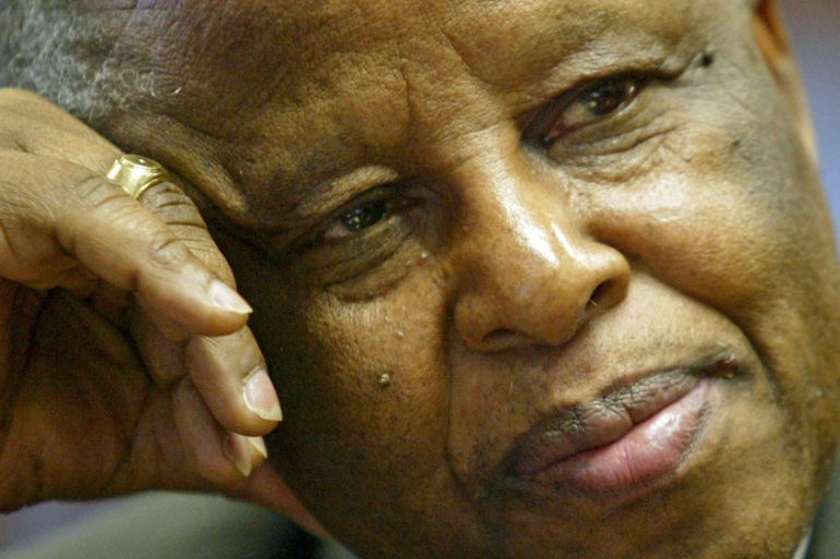 Botswana's former President Festus Mogae says he is hopeful both sides can keep the peace [Juda Ngwenya/Reuters]