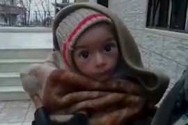 Warnings of widespread starvation in Madaya have been growing as winter sets in [Handout/Reuters]