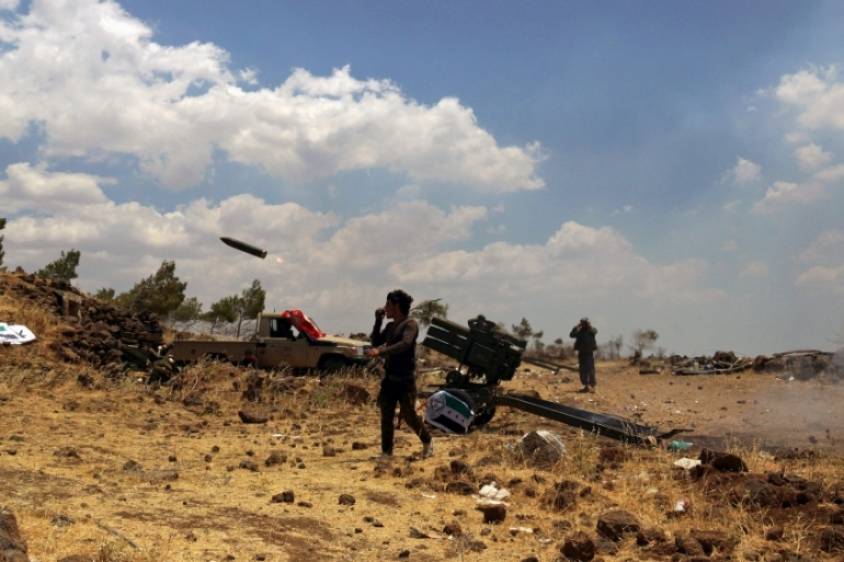 Fighting in the Syrian-controlled part of Golan Heights has intensified [File: Alaa Al-Faqir/Reuters]