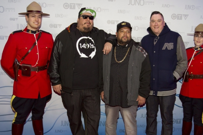 Indigenous musicians like A Tribe Called Red are acting as change agents for Canada's aboriginal community [John Woods/Canadian Press]