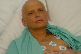 Alexander Litvinenko, 43, died in London in 2006 after drinking polonium-210, a radioactive isotope [EPA]