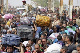 There are more than 3.4 million displaced people living in Iraq, according to a UN estimate [Reuters]