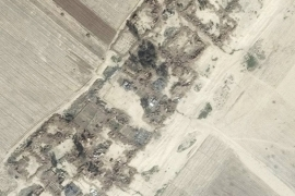 Satellite images show the extent of damage Kurdish fighters are accused of inflicting [Amnesty International]