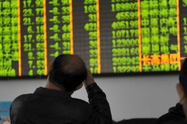 For the second time in less than week, Chinese stock markets shut for the day on Thursday [Reuters]