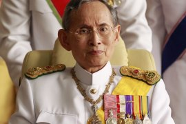 Thailand's King Bhumibol Adulyadej has died at the age of 88. He spent most of the past decade in hospital for a variety of ailments related to old age. [Sukree Sukplang/Reuters]