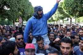 Tunisia accuses 'dirty hands' of fuelling unrest