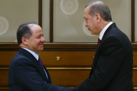 Both Riyadh and Ankara received Barzani recently in a manner normally reserved for visiting heads of state [EPA]