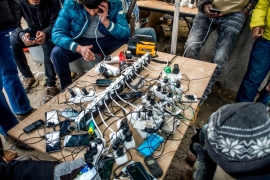 Mobile phone: A bridge to past and future for refugees