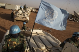 Established in 2013, the UN peacekeeping mission in Mali has some 13,000 troops [File: AP]