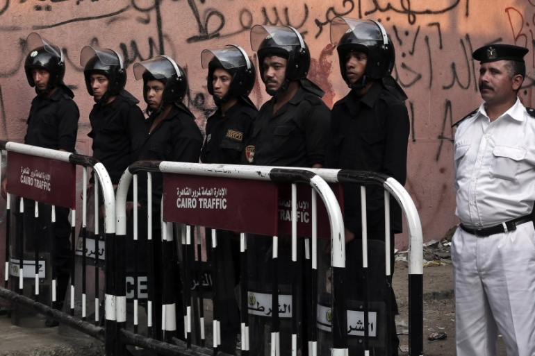 Egypt has cracked down on liberal and Islamist activists since July 2013 [Nariman El-Mofty/AP]