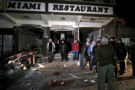 Suicide bombings claimed by ISIL hit Christian-owned restaurants in Qamishli in December [Rodi Said/Reuters]