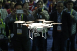 The FAA's registration rule, which took effect on December 21, 2015, applies to small unmanned aircraft that weigh between 0.55 lbs. and 55 lbs (John Locher/AP)